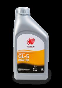 Масло трансмиссионное IDEMITSU GEAR 80W-90 GL-5, 1л