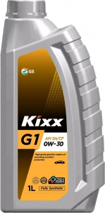 Моторное масло KIXX G1 0W-30 (Neo) SN/CF, GF-5, 1л