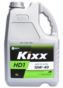 Моторное масло KIXX HD1 CI-4 10W-40 SL/CI-4, A3/B4/E7, 6л