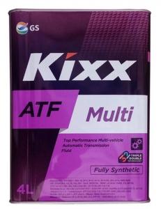 Трансмиссионное масло KIXX ATF MULTI, 4л