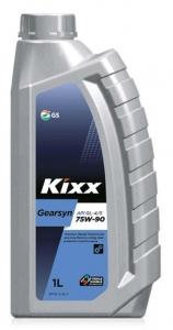 Трансмиссионное масло KIXX GEARSYN GL-4/GL-5 75W-90, 1л
