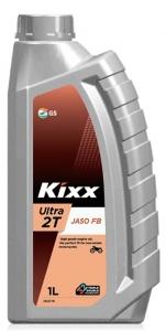 Моторное масло KIXX ULTRA 2T F/M2 FB/TC, 1л