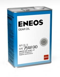 Масло трансмиссионное ENEOS GEAR GL-5 75W-90, 4л