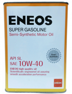 Моторное масло ENEOS Super Gasoline 10W-40 п/синт SL, 0.946л