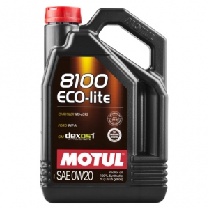 Моторное масло Motul 8100 ECO-LITE 0W-20, 5л