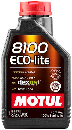 Моторное масло Motul 8100 ECO-LITE 5W-30, 1л