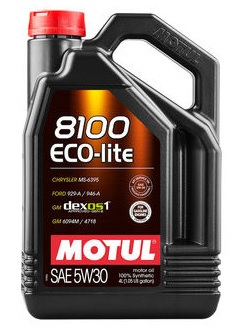 Моторное масло Motul 8100 ECO-LITE 5W-30, 4л
