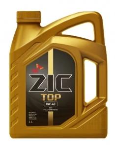 Моторное масло ZIC TOP 0W-40 (Германия), 4л