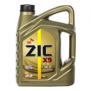 Моторное масло ZIC X9 LS 5W-30 (Германия), 4л
