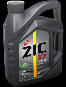 Моторное масло ZIC X7 DIESEL 10W-40, 4л