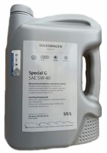 Моторное масло VAG Special G 5W-40 (Россия), 5л