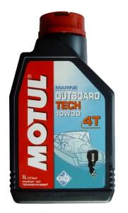 Моторное масло Motul OUTBOARD TECH 4T 10W-30, 1л
