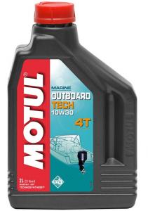 Моторное масло Motul OUTBOARD TECH 4T 10W-30, 2л