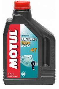 Моторное масло Motul OUTBOARD TECH 4T 10W-40, 2л
