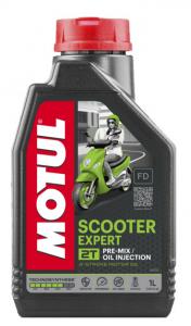 Масло моторное Motul Scooter Expert 2T, 1л