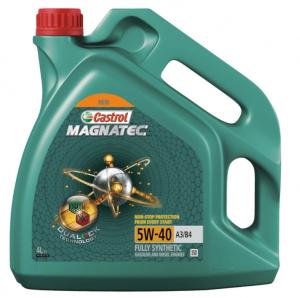 Моторное масло Castrol Magnatec A3/B4 5W-40 DUALOCK, 4л