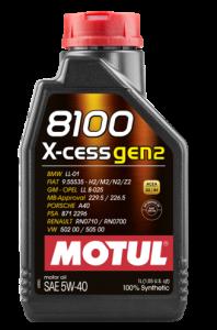 Моторное масло Motul 8100 X-CESS 5W-40 GEN2, 1л