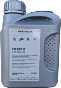 Моторное масло VAG LongLife III 0W-30 (Россия), 1л