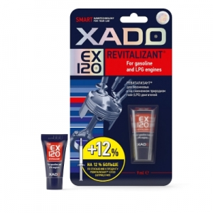 XADO Revitalizant EX120 для бензиновых и на сжиженном природном газе (LPG) двигателей (9мл)