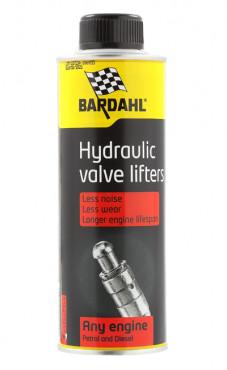 Присадка BARDAHL HYDRAULIC VALVE LIFTERS очищающая и защищающая гидрокомпенсаторы (300мл)