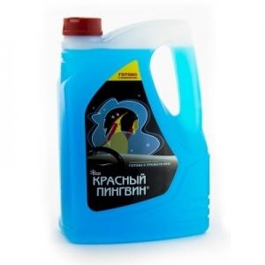 XADO Жидкость для омывания стекол (-32) Красный пингвин, 3л