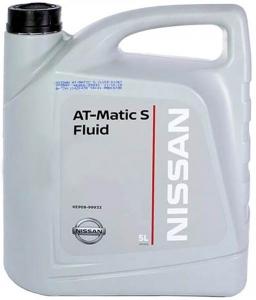 Трансмиссионное масло Nissan MATIC S, 5л