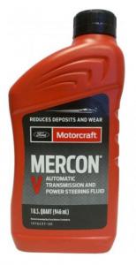 Трансмиссионное масло FORD MOTORCRAFT MERCON V ATF, 0.946л