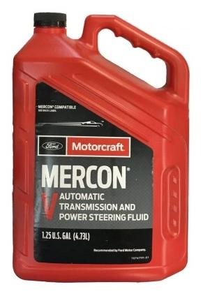 Трансмиссионное масло FORD MOTORCRAFT MERCON V ATF, 4.73л