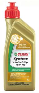 Масло трансмиссионное Castrol Syntrax Limited Slip 75W-140 GL-5, 1л