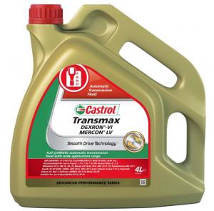 Трансмиссионное масло Castrol Transmax DEXRON-VI MERCON LV, 4л