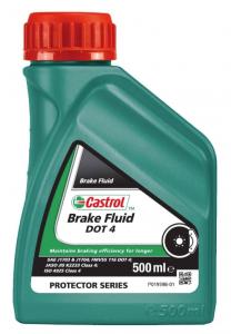 Тормозная жидкость Castrol Brake Fluid DOT-4, 0.5л
