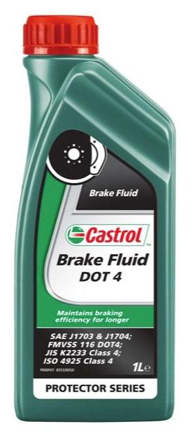 Тормозная жидкость Castrol Brake Fluid DOT-4, 1л