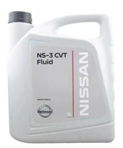 Трансмиссионное масло Nissan NS-3 CVT, 5л