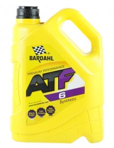 Трансмиссионное масло BARDAHL ATF Dexron VI, 5л