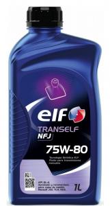 Масло трансмиссионное ELF TRANSELF NFJ 75W-80 (1л)