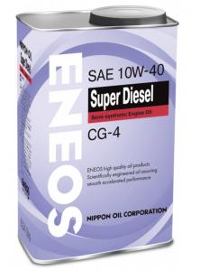 Моторное масло ENEOS SUPER DIESEL CG-4 10W-40, 0.946л