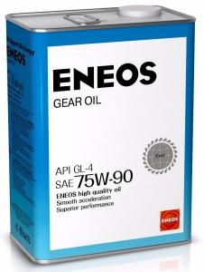 Масло трансмиссионное ENEOS GEAR GL-4 75W-90, 4л