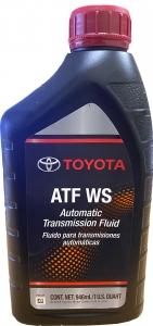 Масло трансмиссионное TOYOTA ATF WS, 0.946л