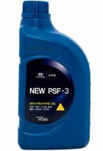 Жидкость ГУРА Hyundai полусинтетическая PSF-3 80W красная, 1л