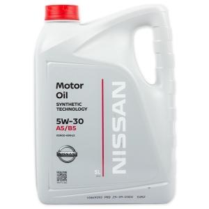 Моторное масло Nissan 5W-30 A5/B5, 5л
