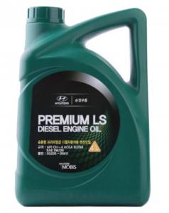 Моторное масло Hyundai Premium LS Diesel 5W-30 CH-4, 4л