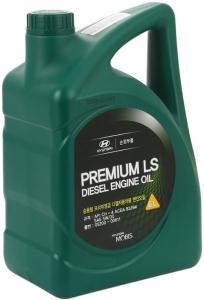 Моторное масло Hyundai Premium LS Diesel 5W-30 CH-4, 6л