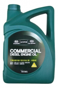Моторное масло Hyundai Commercial Diesel 10W-40 CI-4, 6л