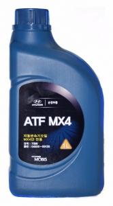 Масло трансмиссионное Hyundai ATF MX4 75W JWS 3314, 1л