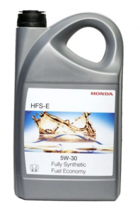 Моторное масло HONDA HFS-E SN 5W-30, 5л