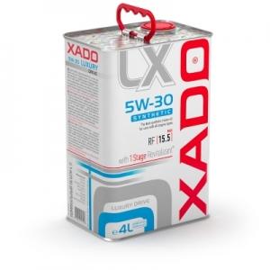 Моторное масло XADO Atomic Luxury Drive Motor Oil 5W-30, 4л