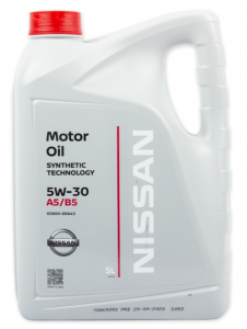 Моторное масло Nissan 5W-30 A5/B5, 5л