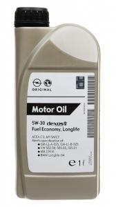 Моторное масло General Motors Dexos2 5W-30, 1л