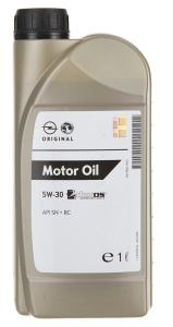 Моторное масло General Motors Dexos1 5W-30, 1л