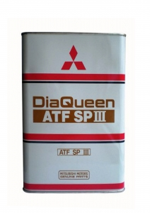 Трансмиссионное масло Mitsubishi Diaqueen ATF SP-III, 4л